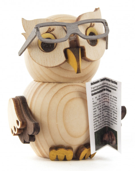 Dregeno Erzgebirge - Mini-Eule mit Brille