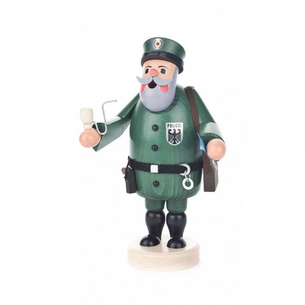 Dregeno Erzgebirge - Räuchermann Polizist - 19cm