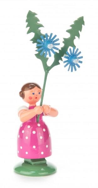 Dregeno Erzgebirge - Blumenmädchen mit Wegwarte
