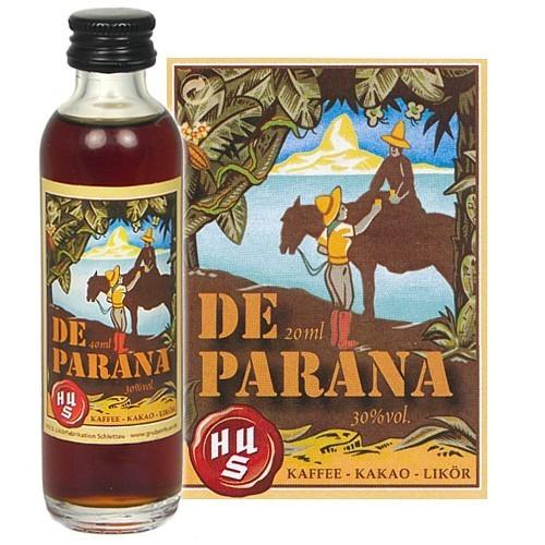 HUS-Probieraktion DE PARANA Kaffee-Kakao-Likör 0,04l