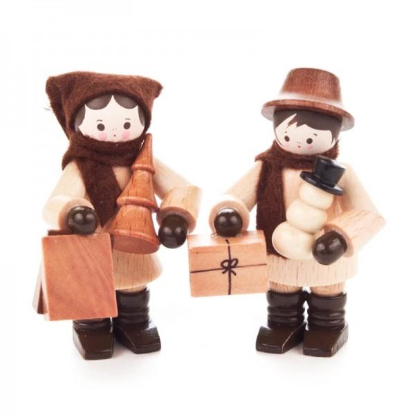 Dregeno Erzgebirge - Miniatur-Einkaufspaar