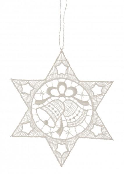 Dregeno Erzgebirge - Behang Stern mit Glocken