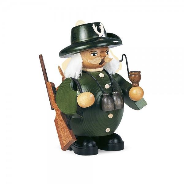 Müller Räuchermann klein Förster grün 14cm