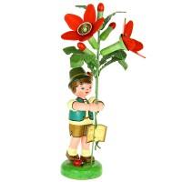 Hubrig Blumenjunge 24cm Tabak