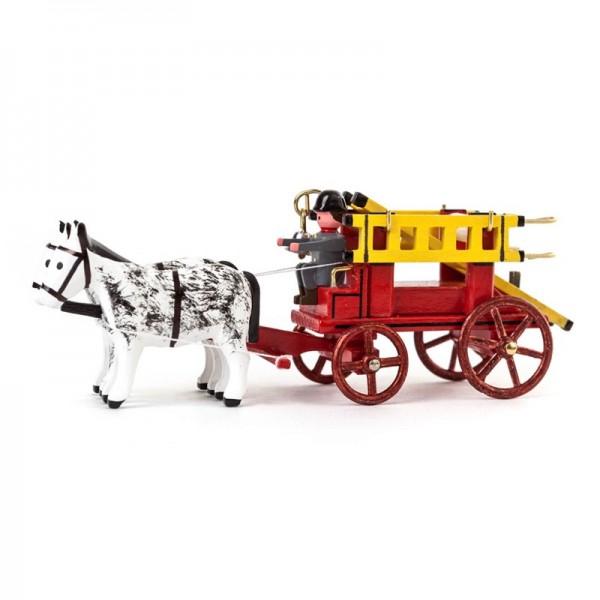 Dregeno Erzgebirge - Miniatur-Gespann Leiterwagen