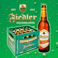 Fiedler Erzgebirgsbier - Kupfer - 0,5l