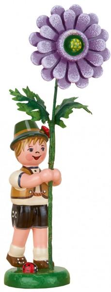 Hubrig Blumenkinder Junge mit Dahlie