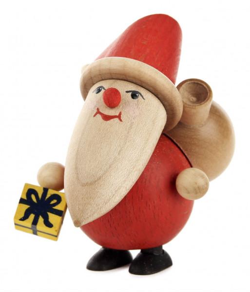 Dregeno Erzgebirge - Weihnachtsmann mit Päckchen