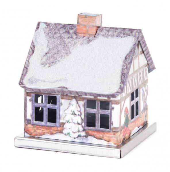 Dregeno Erzgebirge - Räucherhaus »Winter« aus Metall