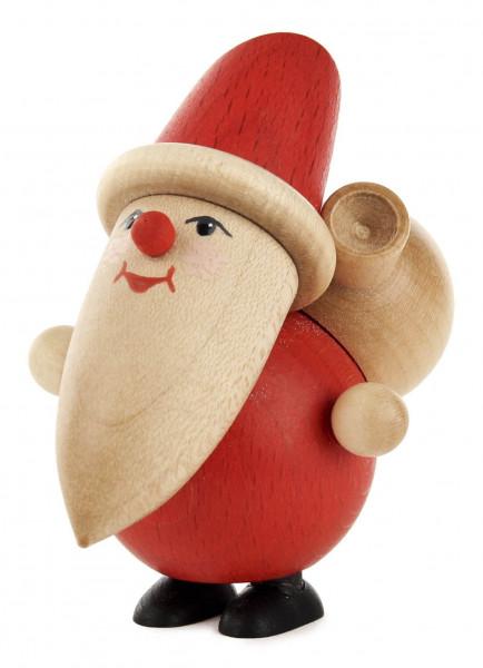 Dregeno Erzgebirge - Weihnachtsmann mit Sack, stehend