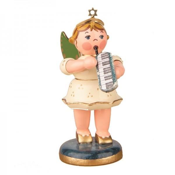 Hubrig Engel mit Melodika 6,5cm