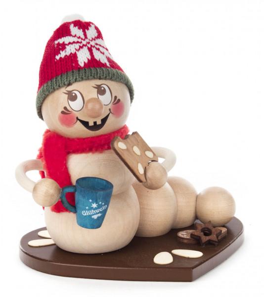 Dregeno Erzgebirge - Räucherwurm Weihnachtsmarkt-Rudi