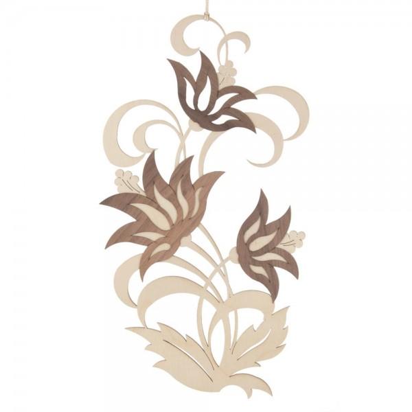 Dregeno Erzgebirge - Fensterbild, Motiv: Lotusblüten, natur