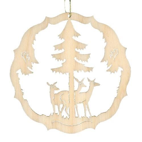 Lenk & Sohn Baumbehang Kreis Motiv Waldtiere