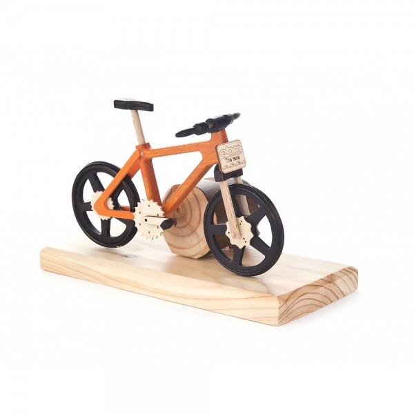 Dregeno Erzgebirge - Räucherfahrrad Mountainbike, orange