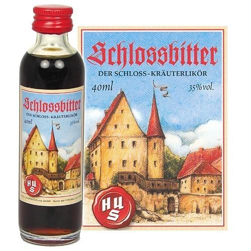 HUS-Probieraktion Schlossbitter Kräuterlikör 0,04l