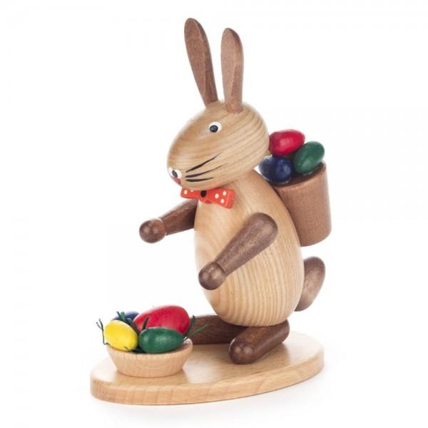 Dregeno Erzgebirge - Hase mit Eierkorb