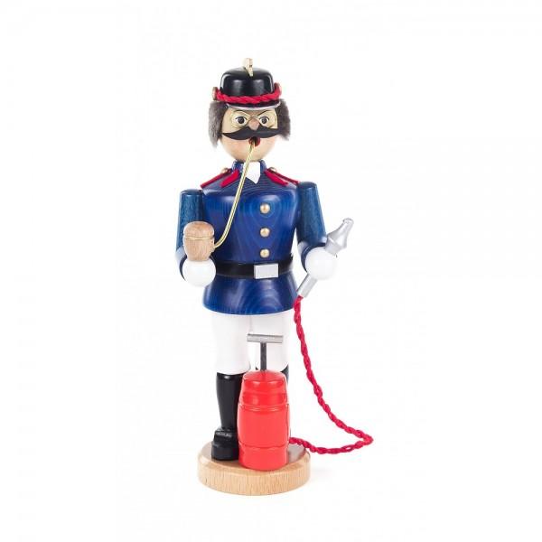 Dregeno Erzgebirge - Räuchermann Feuerwehrmann - 21cm