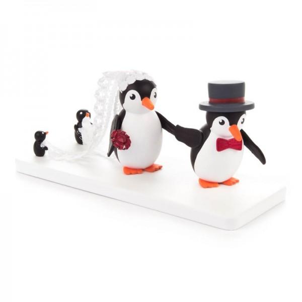 Dregeno Erzgebirge - Miniatur-Pinguin-Hochzeit