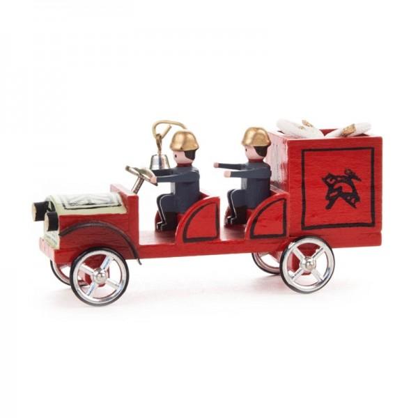Dregeno Erzgebirge - Miniatur-Feuerwehrauto Gerätewagen
