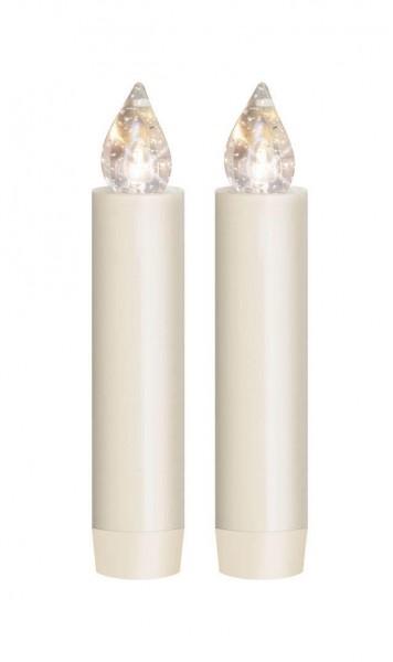 Dregeno Erzgebirge - LUMIX CLASSIC MINI S SuperLight, Erweiterungs-Set 2 Kerzen, 2 Batterien