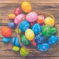 Dregeno Erzgebirge - Servietten Dyed Eggs 20er-Pack