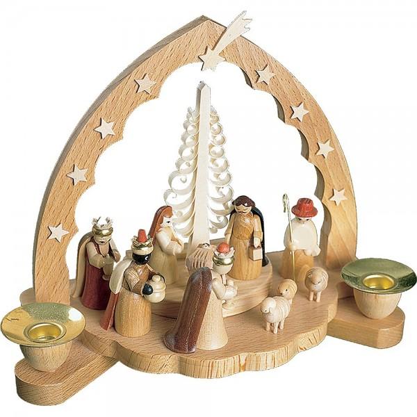 Richard Glässer Kerzenhalter Christi Geburt