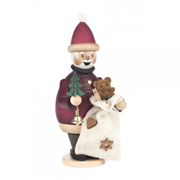 Dregeno Erzgebirge - Räuchermann Max als Weihnachtsmann