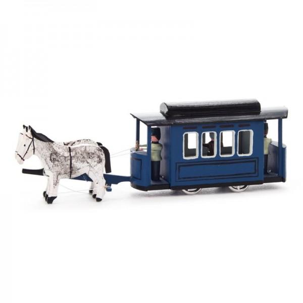 Dregeno Erzgebirge - Miniatur-Straßenbahn mit Pferden