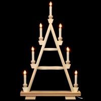 Holzkunst Niederle - Lichterspitze 3 Etagen - leer