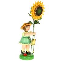Hubrig Blumenmädchen 24cm Sonnenblume