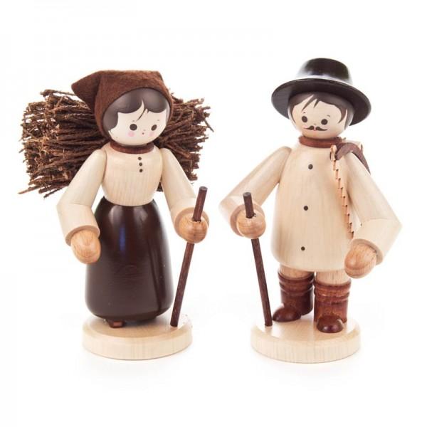 Dregeno Erzgebirge - Miniatur-Holzleute, groß