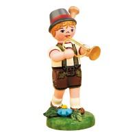 Hubrig Musikkinder Junge mit Trompete