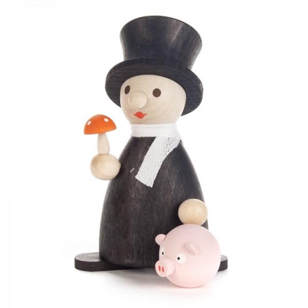 Dregeno Erzgebirge - Miniatur-Glücksbringer Schweinchen