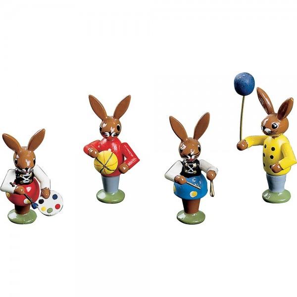 Richard Glässer Osterhasenkinder spielend