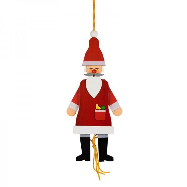 Dregeno Erzgebirge - Miniatur-Hampelmann Weihnachtsmann
