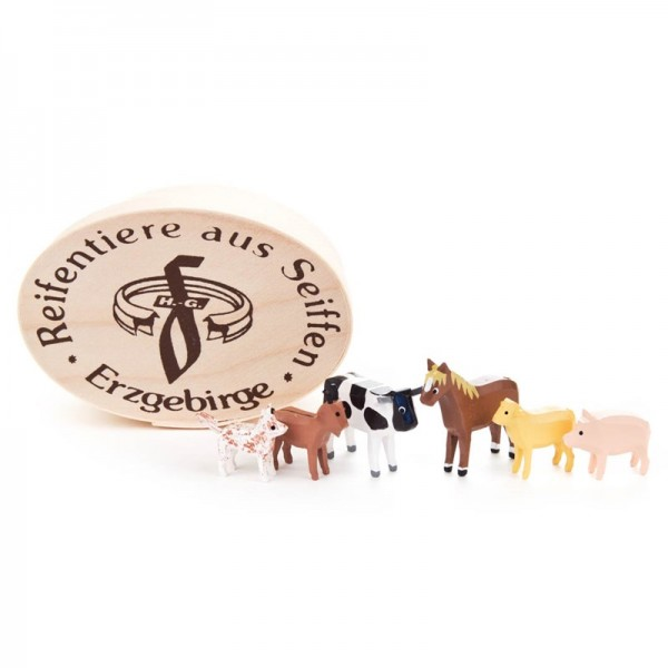 Dregeno Erzgebirge - Miniatur-Haustiere in Spandose