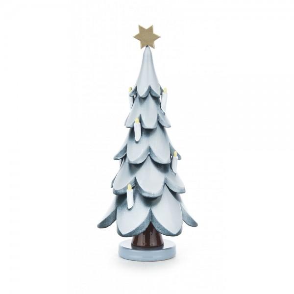 Dregeno Erzgebirge - Weihnachtsbaum mit Stern und Kerzen