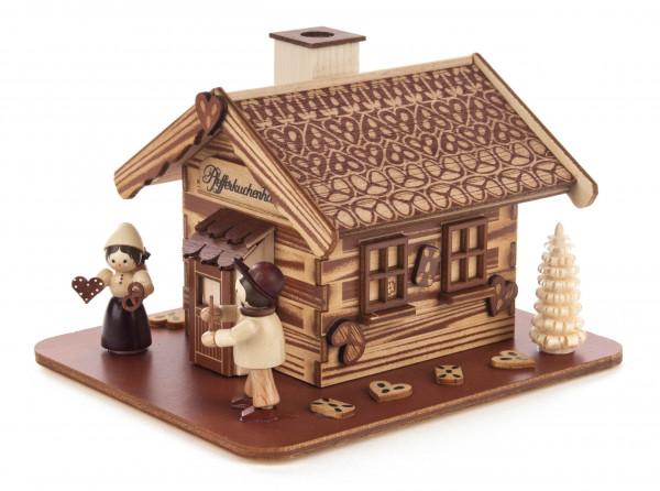 Dregeno Erzgebirge - Räucherhaus »Pfefferkuchenhaus« mit Hänsel und Gretel