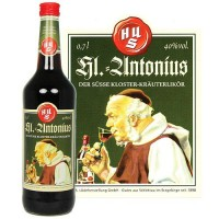 Antonius 0,7l Glasflasche