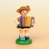 Hubrig Musikkinder Mädchen mit Akkordeon