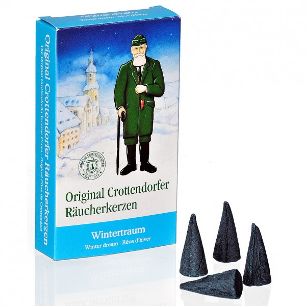 Original Crottendorfer Räucherkerzchen - Wintertraum