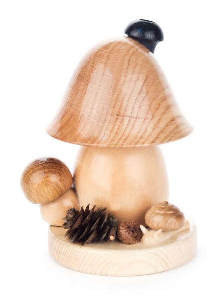 Dregeno Erzgebirge - Räucherpilz Glockenform, klein